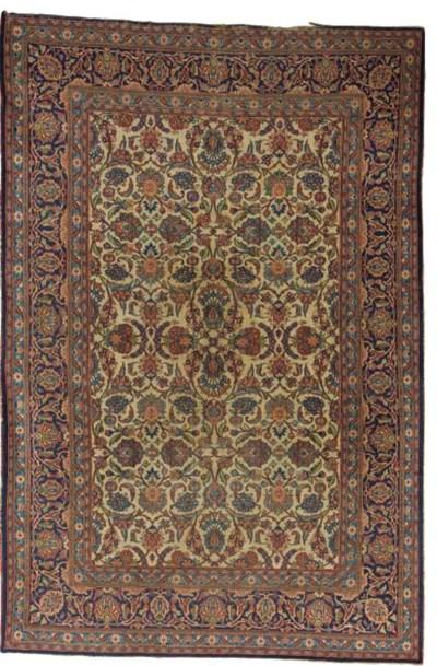 A Keshan carpet