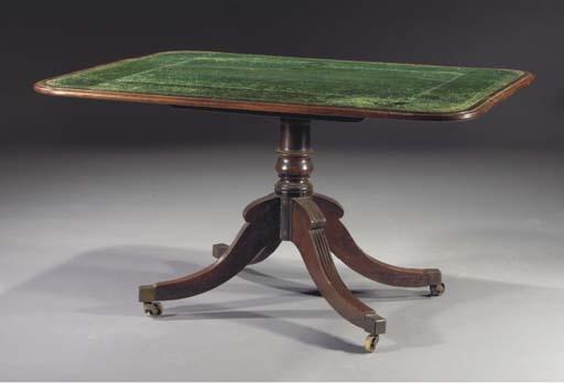 A Regency mahogany tilt-top wr