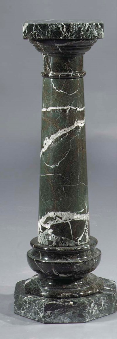 A Verde Antico column
