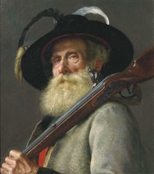 Adolf Schlabitz (German, 1854-