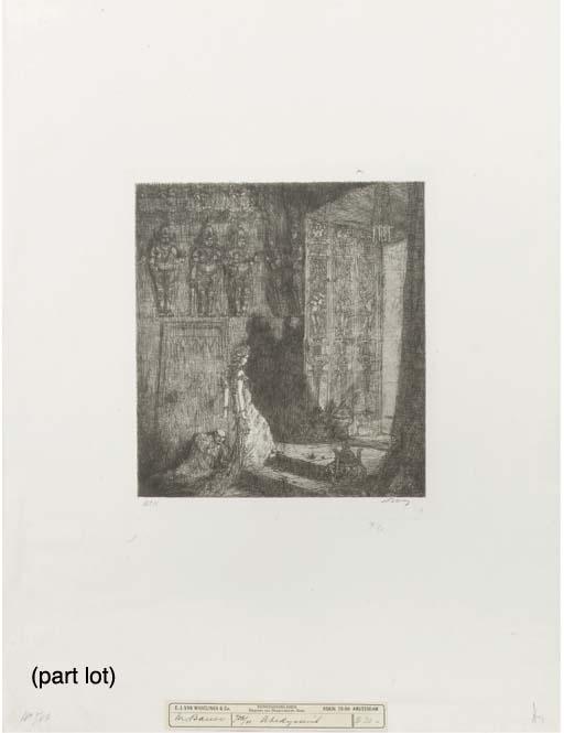 (9) Marius Bauer (Dutch, 1867-