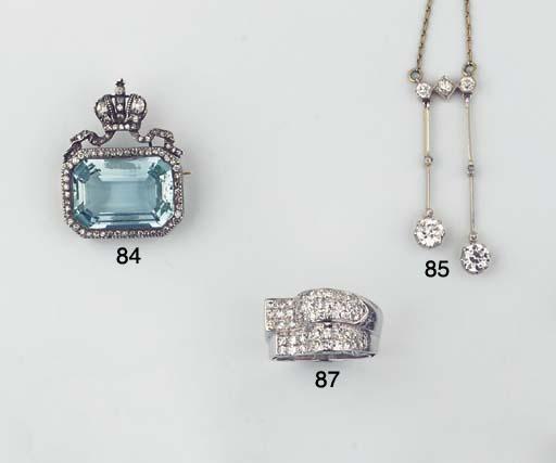 A BELLE EPOQUE DIAMOND LAVALIE