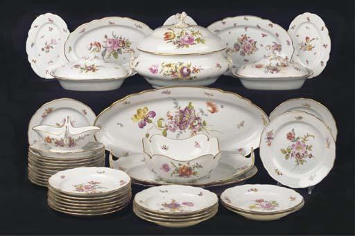 (55) A Meissen Teichert porcel