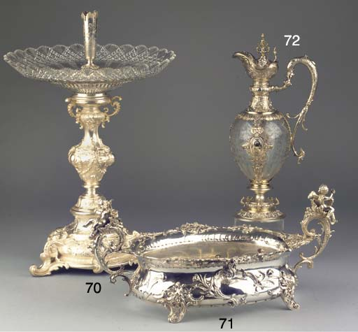 An Austro-Hungarian silver jar