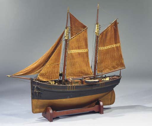A DUTCH FULLY RIGGED MODEL OF