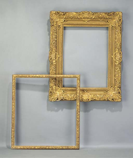 (2)  A GILTWOOD AND GILT-GESSO
