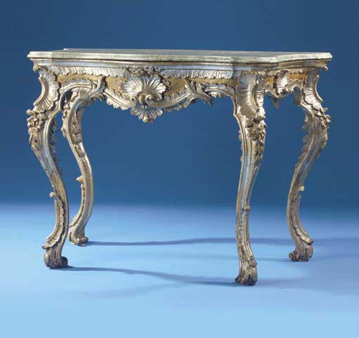 A SOUTH ITALIAN PARCEL-GILT AN