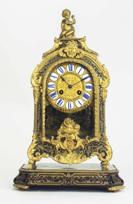 (2) A French gilt-metal mounte