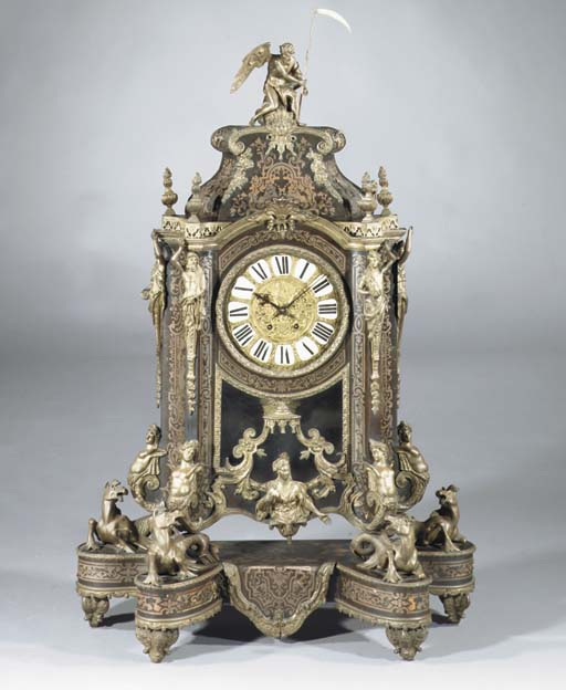 A French bronze-mounted boulle