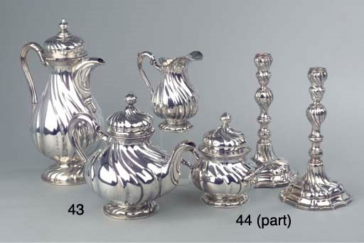 (5) A composed German silver c