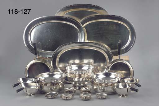Two fine Danish silver bowls w