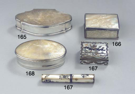 A Dutch silver-mounted mother-