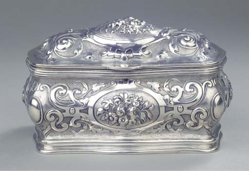 A Russian silver and parcel-gi