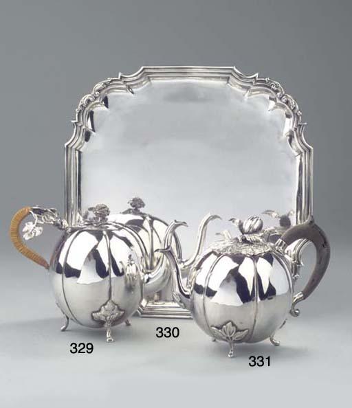 A Duch silver salver