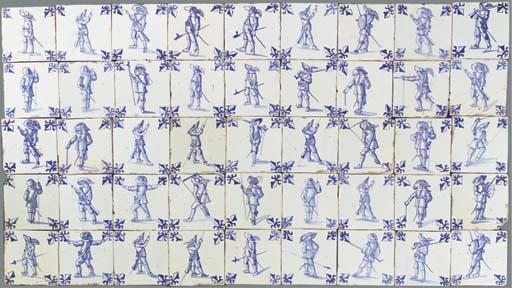 (45) A series of Dutch blue an