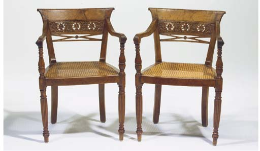 (2) A PAIR OF DUTCH COLONIAL F