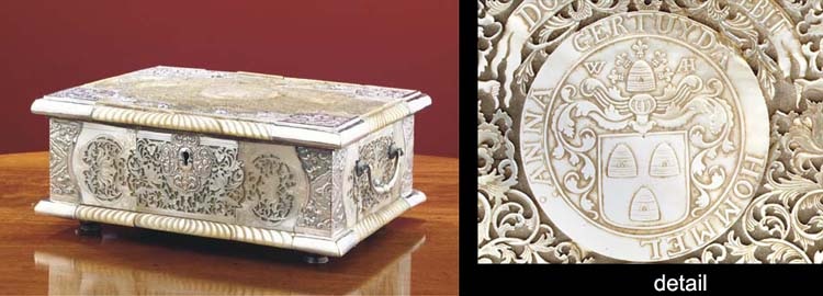 A Dutch colonial silver and mo