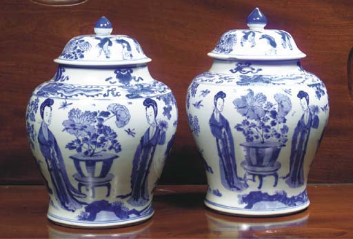 (4) A MATCHED PAIR OF CHINESE
