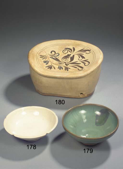 A dingyao carved bowl