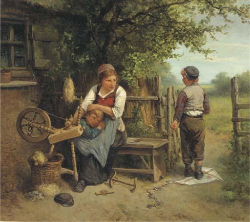 Mari ten Kate (Dutch, 1831-191