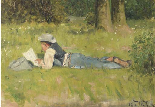 Carl Welz (German, 1860-1929)