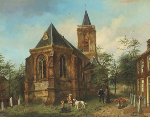 Jan Czn. Fabius (Dutch, 1820-1
