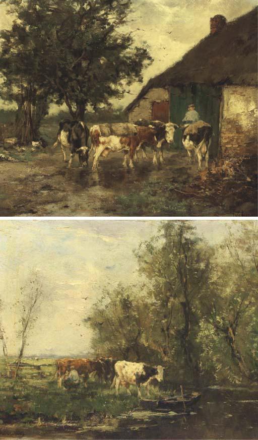 (a pair) Johan Frederik Cornel