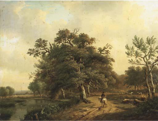 Louis-Pierre Verwee (Belgian,