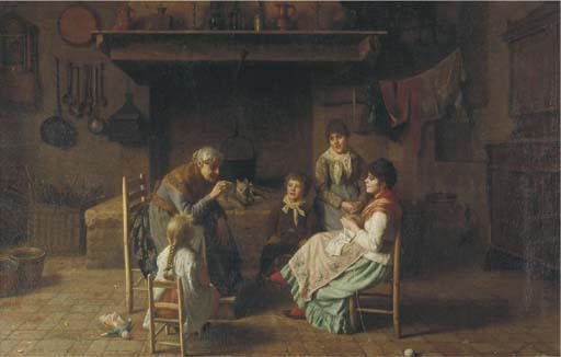 Luigi Mion (Italian, 1843-afte