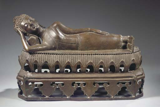 a thai, lanna style, bronze fi