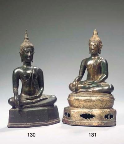 a thai, lan na style, bronze f