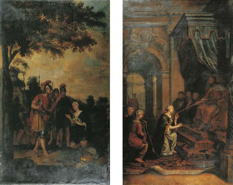 (2) Circle of Kaspar Jacob van