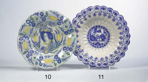 A Dutch Delft lobed William an