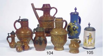 (9)  A collection of eight Ger
