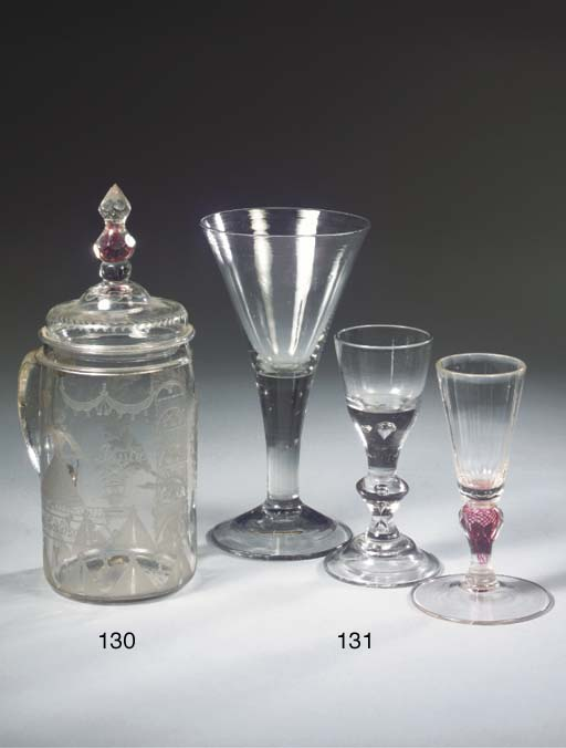 Three various goblets