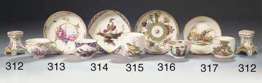 A Höchst porcelain chinoiserie