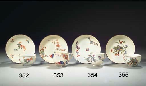 A Meissen porcelain Kakiemon t
