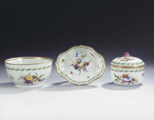 (4)  A set of a Meissen Marcol