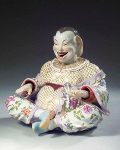 A large Meissen porcelain outs