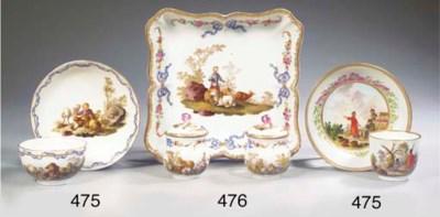 (5)  A Meissen Marcolini porce