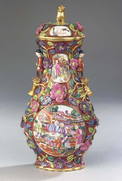 A rare Meissen porcelain Chine