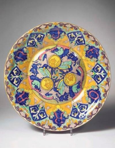 Oranje, a glazed pottery wall