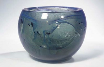 An Unica glass bowl