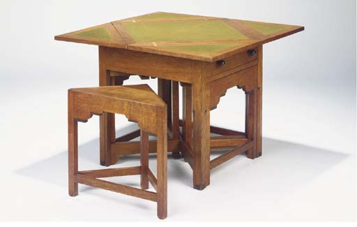 (5) An oak games table
