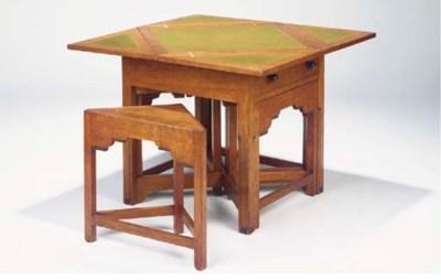 (5) An oak games table