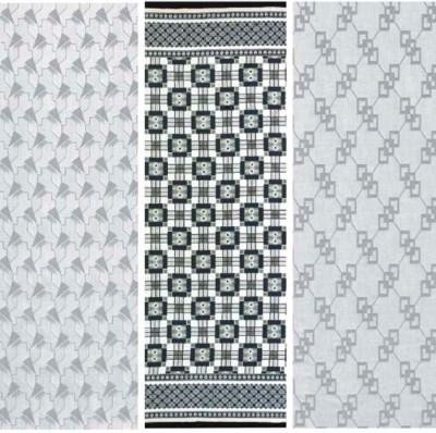 (3)  A cotton-wool damask leng