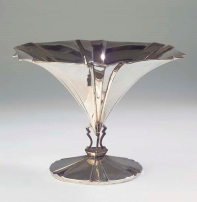 A German silver fruitdish