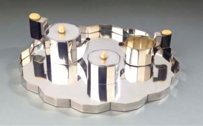 (4)  An Austrian silver three-