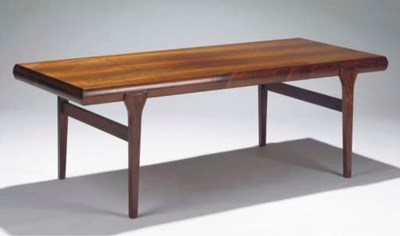 A rosewood centretable