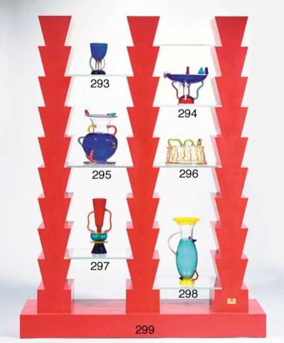Sirio, a glass vase
